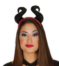 Cerchietto corna nere malefica Halloween