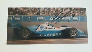Greg Moore IndyCar Driver Signed Photo - Toronto Molson Indy 1996