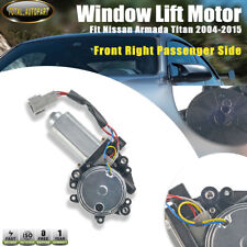 Window Lift Motor for Nissan Armada Titan 2004-2015 Front Right Passenger 821371