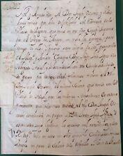 FIRMA REAL, CARLOS II, Aragón,  José de Ocariz, Recepta Valencia,1697