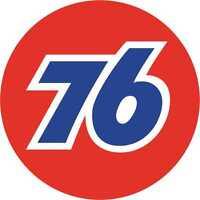 "Petrol Gas 76 Classic Round Motorsport Exterior Vinyl Sticker Decal 76mm - 3"" x2"