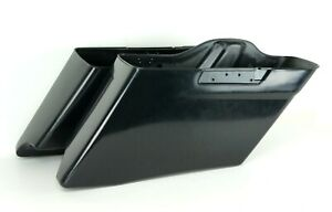 Custom Stretched CVO Style Extended Dual Saddlebags Bags Harley 14-20 FLHX FLTR