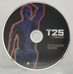 Focus T25 Beta Workout Replacement DVD Dynamic Core EUC Beach Body