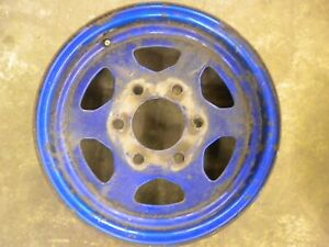 1981 Chevy LUV Isuzu PUP Diesel C223 spoked wheel 14 x 5.5""