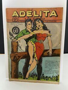 Adelita y las Guerillas #99 Mexican Comic Western Adventure 1954 RAREVG/F Grail