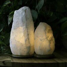 Himalayan Salt Rock Crystal Lamp Natural Healing Ionizing Natural Salt Lamps