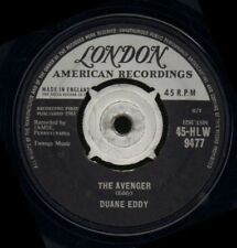 "Duane Eddy(7"" Vinyl)The Avenger-London-45-HLW 9477-UK-1961-VG/VG"