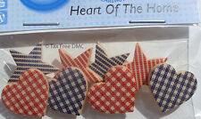 VAT Free Dress It Up Heart of the Home 8 Buttons Craft Sewing Knitting New 8313