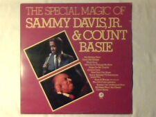 SAMMY DAVIS JR. COUNT BASIE The special magic of lp UK