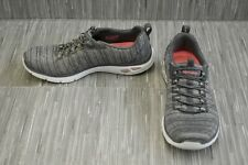 Skechers Empire D'Lux 12820 Comfort Sneakers - Women's Size 7, Gray