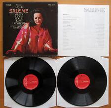 SER 5582/3 Strauss Salome Caballe Milnes Leinsdorf RCA 2xLP Box Set NM/VG