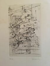 Original Etching By Hans Bellmer