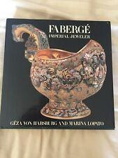 Faberge Imperial Jeweler bookby Geza von Habsburg-Marina Lopato 1995