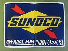 """2011 Sunoco """"Official fuel of Nascar"""" - Sticker Decals - New With Backing"""
