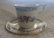 Coalport Ming Rose Espresso Cup & Saucer
