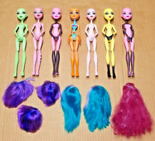 Monster High Create a Monster Doll (7 Dolls & 6 Wigs)