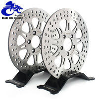 """11.8"""" Front Rear Brake Discs Rotors for Harley Touring Road King Glide 2008-2016"""