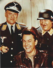 HOGAN'S HEROES CAST 8 X 10 PHOTO WITH ULTRA PRO TOPLOADER
