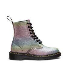 Dr. Martens Women's Pascal Pride GLTR Glitter Ankle Boot