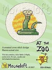 MOUSELOFT Mini Cross Stitch Kit-Au Zoo Collection-Serpent