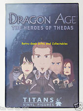 """Dragon Age The Heroes Of Thedas Mystery Blind Box 3"""" Minifigure By Titans Vinyl"""