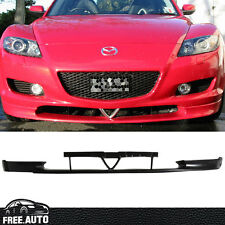 For 2004-2007 Front Bumper Lip  Mazda RX-8 OE Style Spoiler Poly-Urethane PU