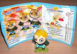 TT083 RINO IL BULLO + BPZ KINDER SORPRESA ITALIA 2007 IDENTYKIDS