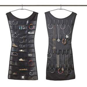UMBRA - LITTLE BLACK DRESS Organizer portagioie doppio da armadio