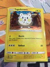 Togedemaru SM44 Black Star Promo Holo Pokemon Card Rare Free Shipping