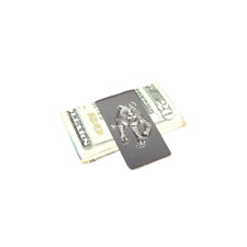 Tiger Money Clip Stainless Steel Cash Credit Card Wallet Clipper