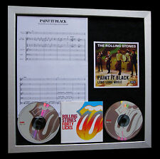 ROLLING STONES Paint It Black TOP QUALITY CD FRAMED DISPLAY+EXPRESS GLOBAL SHIP
