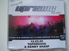 UPRISING -12.02.05 TOPGROOVE & KENNY SHARP - CD