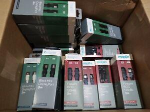 Joblot of Maplin Cables (22 Items), Firewire, Mini Display Port & Thunderbolt