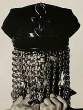 1991 Vintage PRINCE Music Artist By HERB RITTS Police Hat Chains Photo Art 16x20