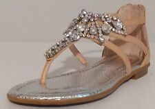 Girls GB Girls Iced Stoned Sandals Size 1M