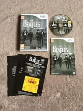 The Beatles Rockband Game - Nintendo Wii - Complete Including Instructions