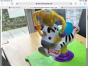 Fisher-Price Hipp Hopp Zebra Hüpf- und Schaukeltier