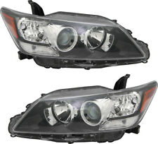 Halogen Headlight Headlamp Headlights NEW Pair Set for 2011-2013 Scion tC