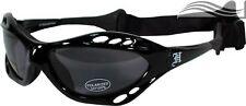 Polarised Gloss Black Smoke Surf Sunglasses