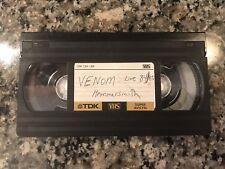 Venom Live 1985 Hammersmith Vhs! Bathory Slayer Sodom Celtic Frost
