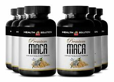 Premium Maca Extract 1300mg Dietary Supplements - Sexual Wellness Capsules 6B