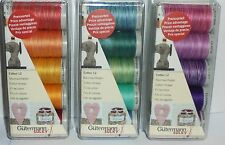 GUTERMANN 3 SETS /PACKS OF COTTON THREADS FOR HAND EMBROIDERY & QUILTING