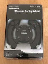 KONG GAMING WIRELESS RACING WHEEL SUITABLE FOR PS3 BRAND NEW SEALED