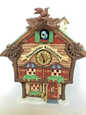 Dept 56 Alpine Vllage Black Forest Cuckoo Clocks