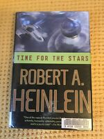 ' TIME FOR THE STARS ' by Robert A. HEINLEIN : First TOR Edition Hardback