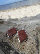 Sunstone 925 Sterling Silver Earrings