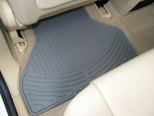BMW 3 Series E46 Coupe Sedan Wagon Genuine Rubber Rear Mat Gray 82550138290