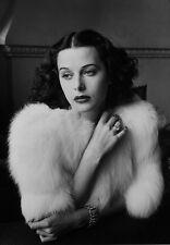 Famosa película estrella de cine Hedy Lamarr cartel de impresión