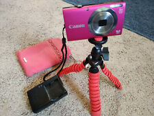 Canon PowerShot A2300 HD 16MP Digital Camera PC1732 Pink