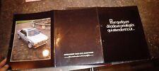 """Ancien Catalogue Peugeot 505 GTX Injection """"Pour Quelques Décideurs Privilégiés"""""""